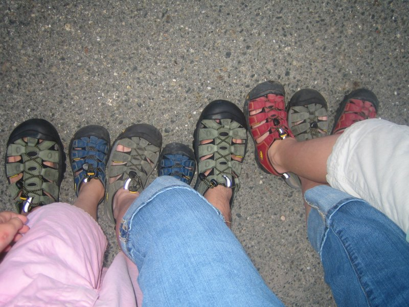 The family that Keen's together...